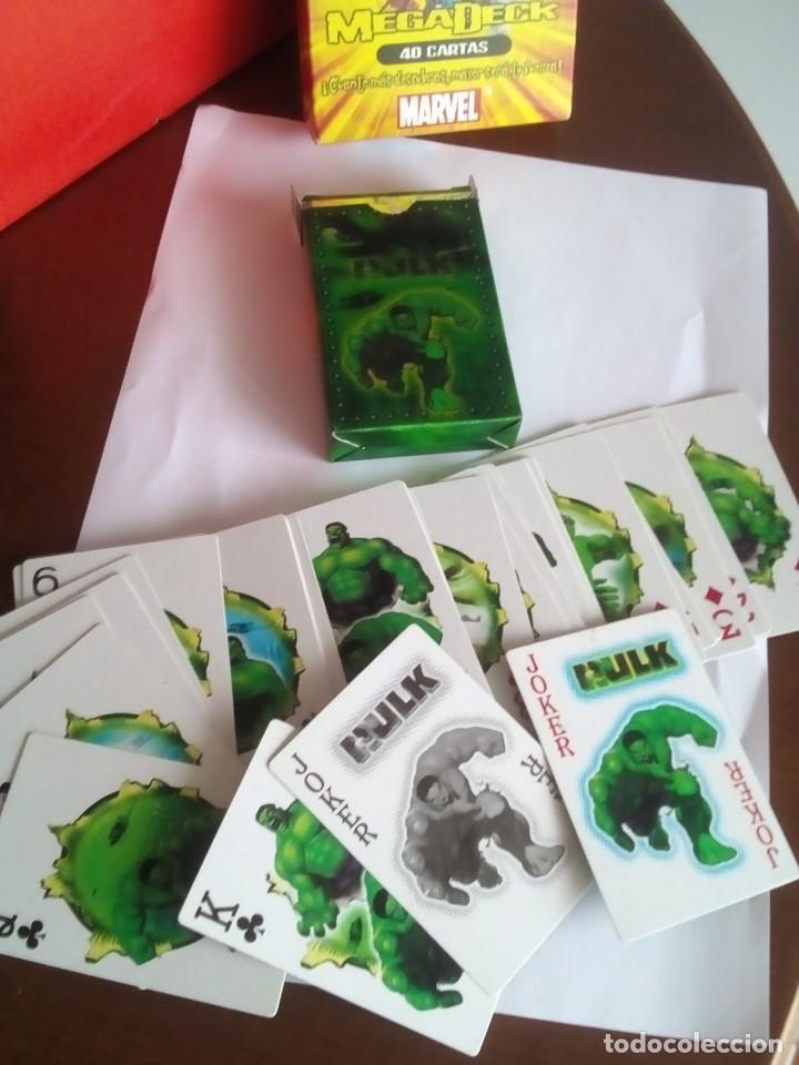 Barajas: HULK PLAYING CARDS COMPLETA - Foto 2 - 88954512