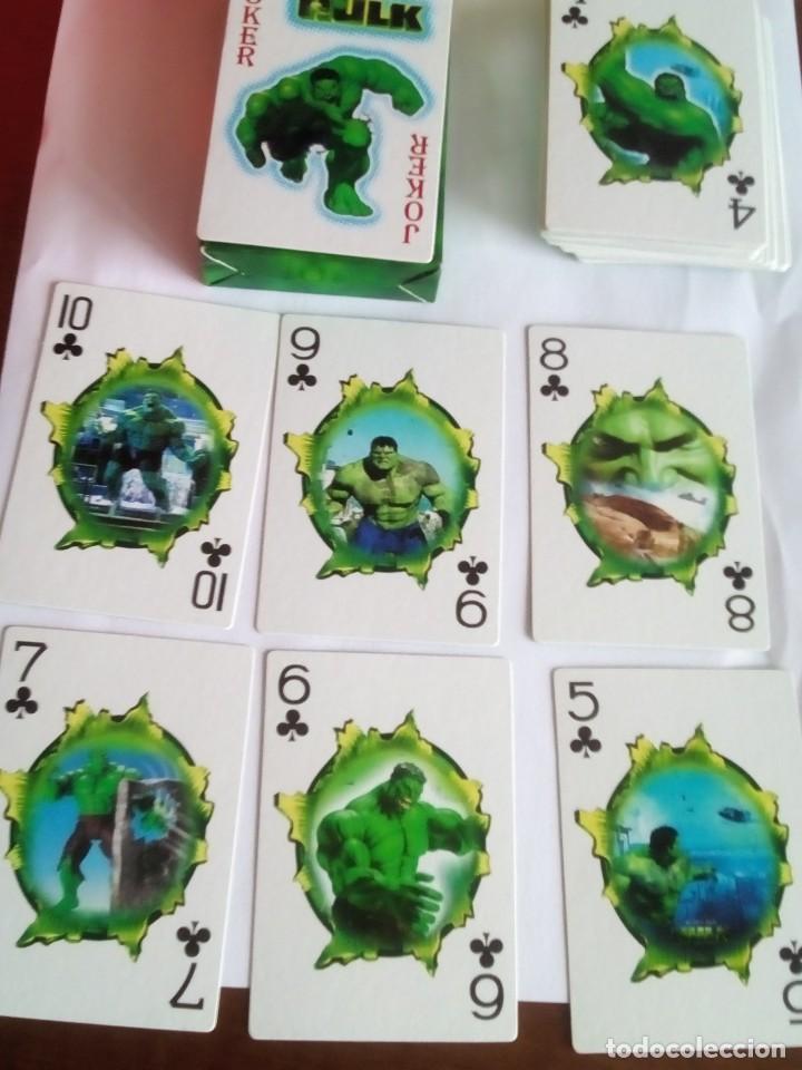 Barajas: HULK PLAYING CARDS COMPLETA - Foto 3 - 88954512