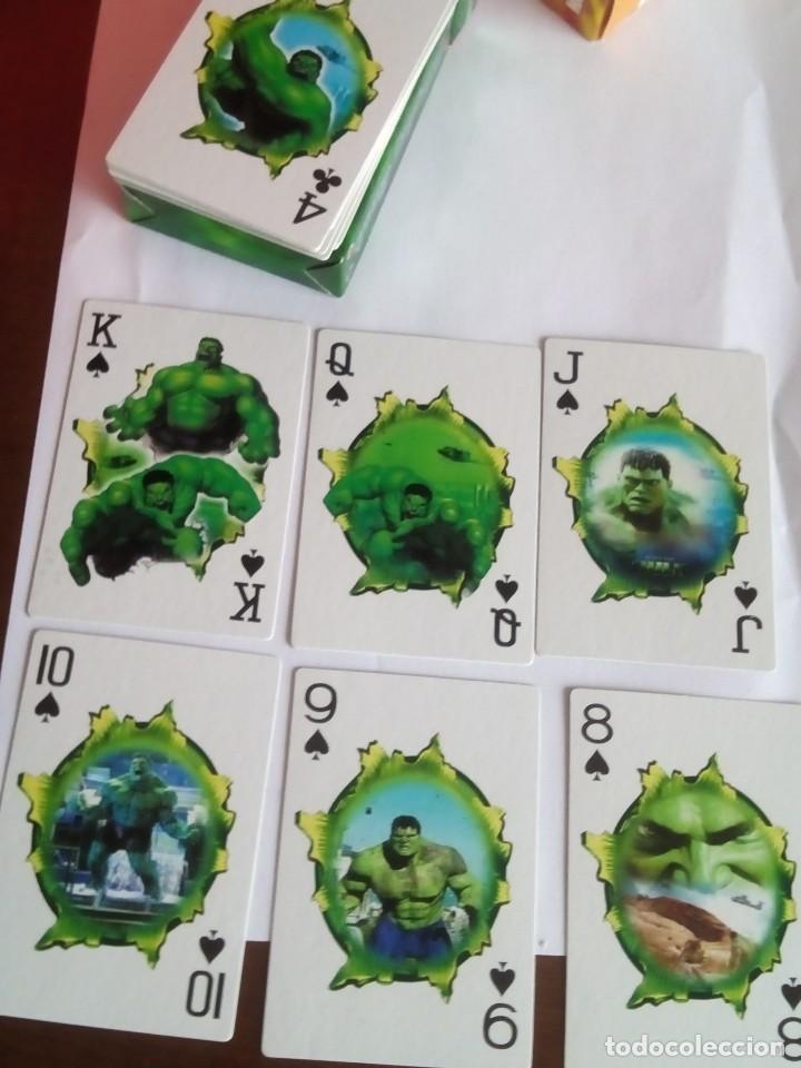 Barajas: HULK PLAYING CARDS COMPLETA - Foto 4 - 88954512