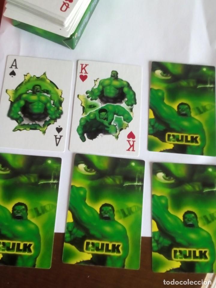 Barajas: HULK PLAYING CARDS COMPLETA - Foto 5 - 88954512