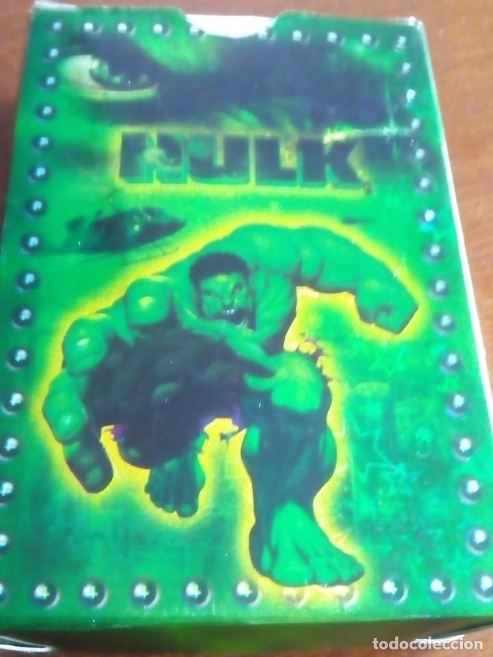 Barajas: HULK PLAYING CARDS COMPLETA - Foto 6 - 88954512