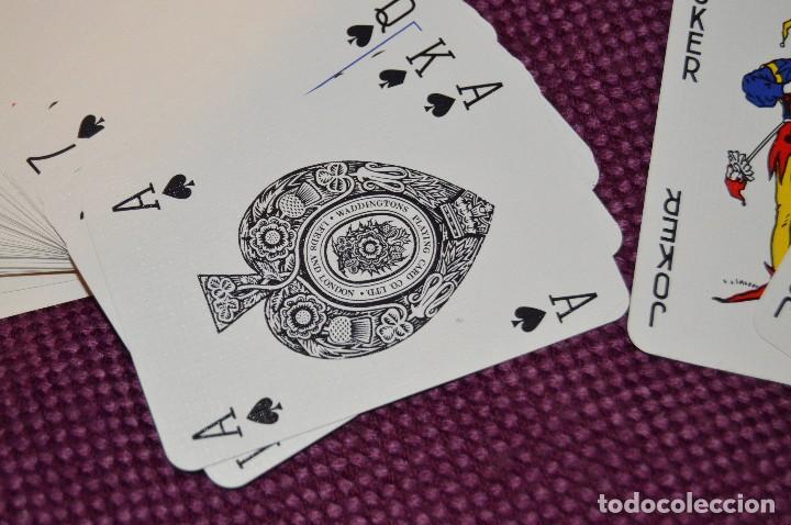 Barajas: PRECIOSA BARAJA DE CARTAS - WADDINGTONS PLAYING CARDS - MCGREGOR - MADE IN ENGLAND - HAZ OFERTA - Foto 3 - 105847827
