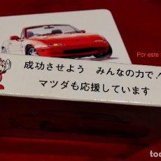 Barajas: BARAJA CARTAS POKER COCHES MAZDA 1994 PUBLICIDAD MERCHANDISING JAPÓN. Lote 108351703