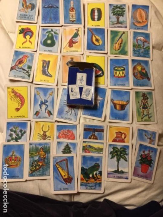 BARAJA ANTIGUA CON 38 CARTAS DE 54 INCOMPLETA MUY BONITA EL GALLO MÉXICO (Coleccionismo para Adultos - Barajas)