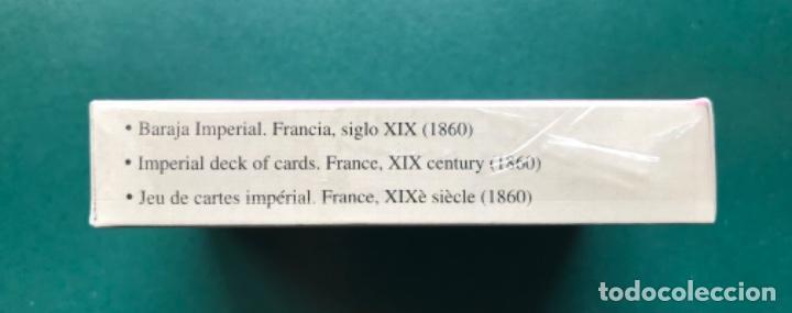 Barajas: Fournier - Baraja Facsimil - Baraja cartas Imperial - Francia 1860 - Precintada - Foto 2 - 115288035