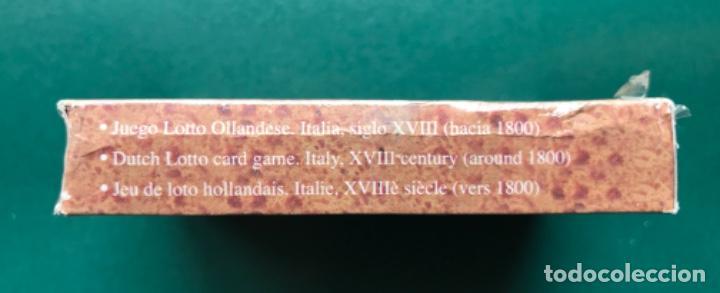 Barajas: Fournier - Baraja Facsimil - Juego Lotto Ollandese - Italia hacia 1800 - Precintada - Foto 2 - 115288211