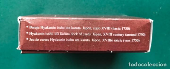 Barajas: Fournier - Baraja Facsimil - Baraja cartas Hyakunin isshu uta karuta - Japon hacia 1750 - Foto 2 - 115288639