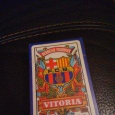 Barajas: BARAJA DEL FUTBOL CLUB BARCELONA 50 CARTAS DEL 2003. Lote 116352155