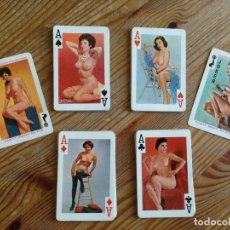 Barajas: BARAJA POKER EROTICA GAIETY BRAND Nº 202 54 MODELS COLOUR PLAYING CARDS. Lote 118148639