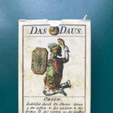 Baralhos: FOURNIER - BARAJA FACSIMIL - BARAJA CARTAS ASTRONOMICA - ALEMANIA 1719. Lote 115288427