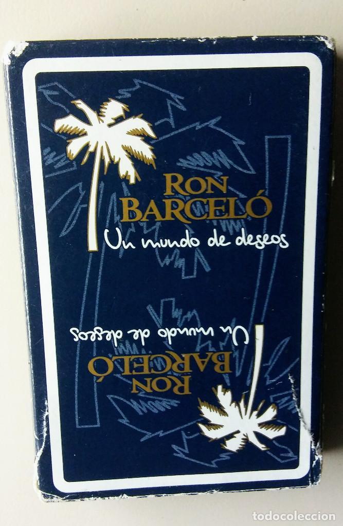 BARAJA ESPAÑOLA RON BARCELO (Coleccionismo para Adultos - Barajas)