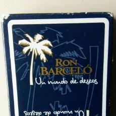 Barajas: BARAJA ESPAÑOLA RON BARCELO. Lote 148448922