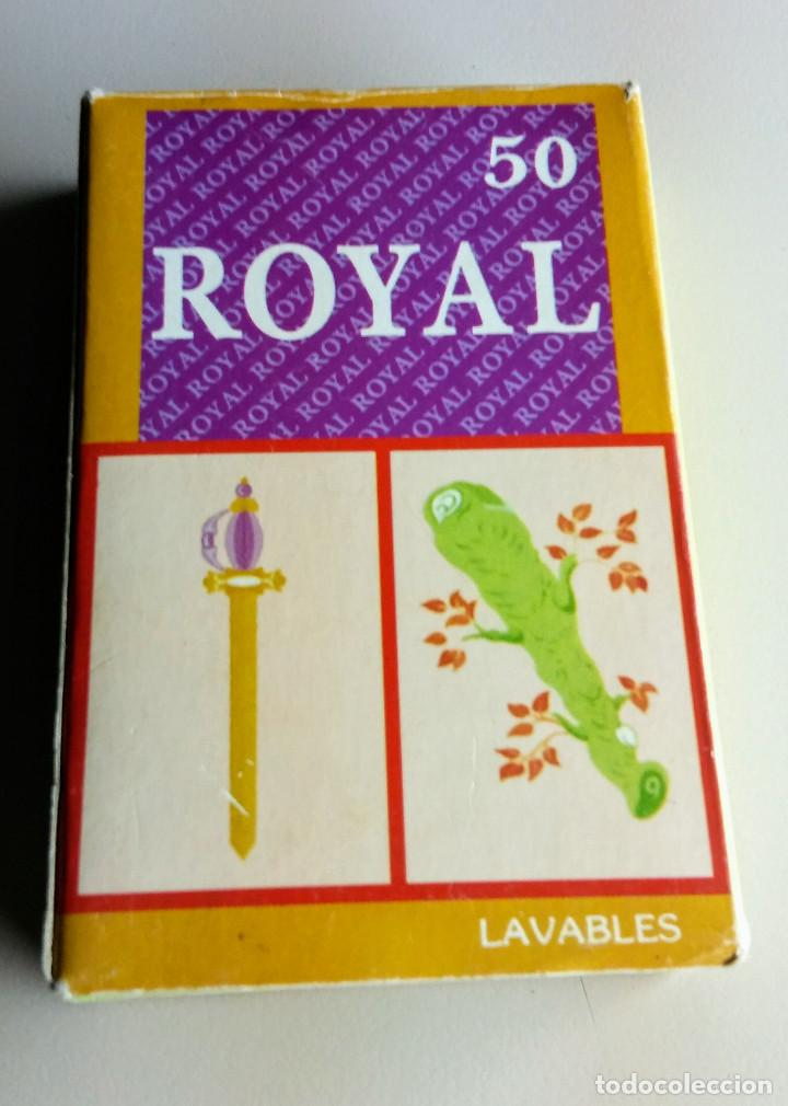 BARAJA ROYAL 50 LAVABLES (Coleccionismo para Adultos - Barajas)