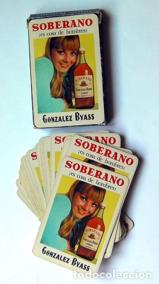 BARAJA NAIPE ESPAÑOL FOURNIER VITORIA 40 CARTAS SOBERANO GONZALEZ BYASS (Coleccionismo para Adultos - Barajas)