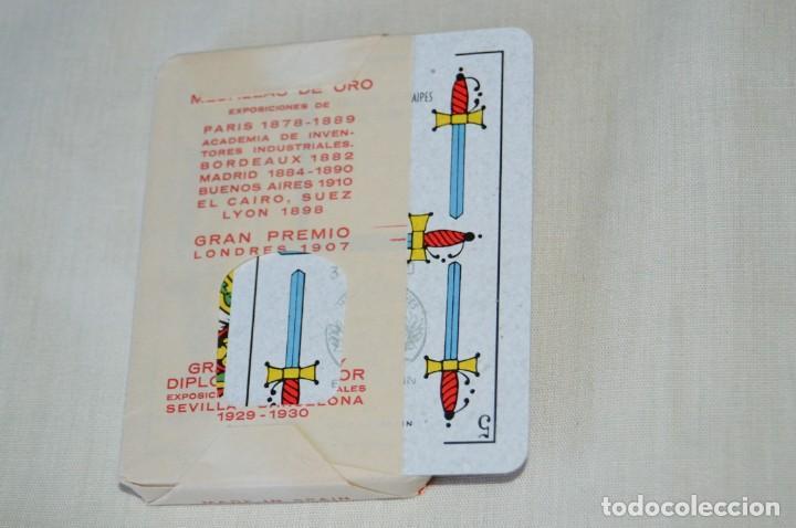 Barajas: Heráclio Fournier - RAFIK antigua - Nueva, envoltorio original, Timbre naipes exportación - Años 60 - Foto 4 - 170009344