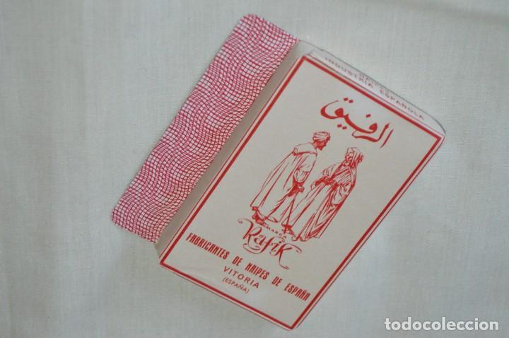 Barajas: Heráclio Fournier - RAFIK antigua - Nueva, envoltorio original, Timbre naipes exportación - Años 60 - Foto 5 - 170009344
