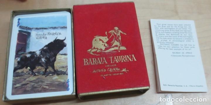BARAJA TAURINA DIBUJOS ANTONIO CASERO EN CAJA COMPLETA (Coleccionismo para Adultos - Barajas)