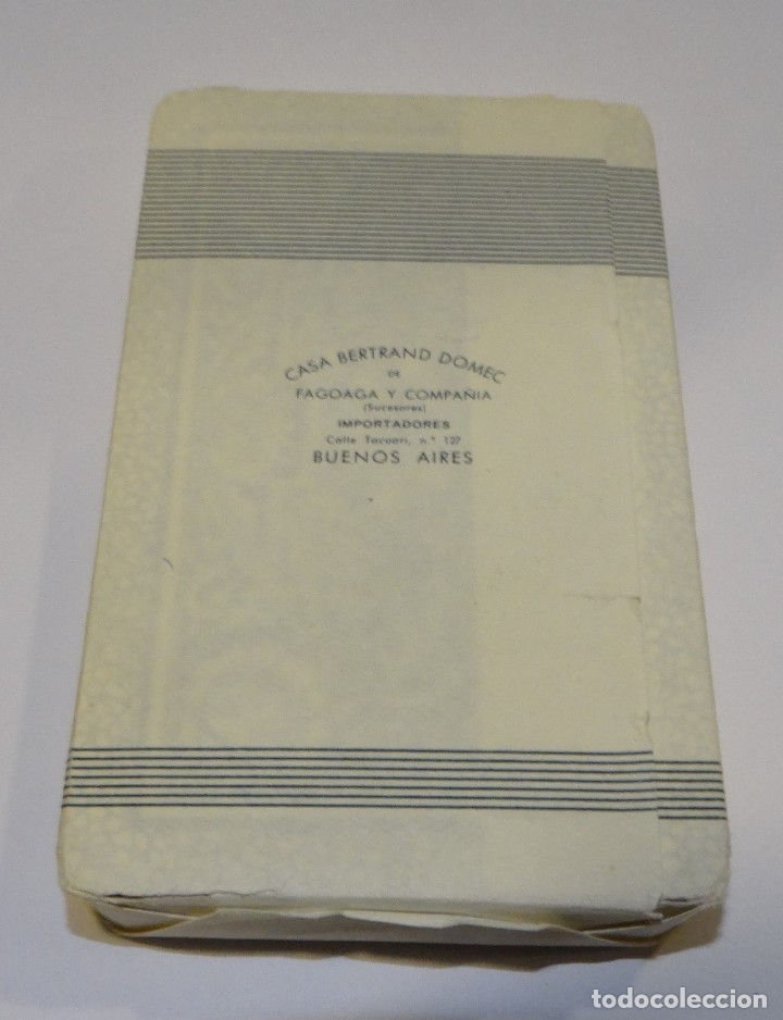 Barajas: BARAJA- CARTAS PABELLÓN HERACLIO FOURNIER PRECINTADA SIN ABRIR AÑO 1962 - Foto 2 - 183018297