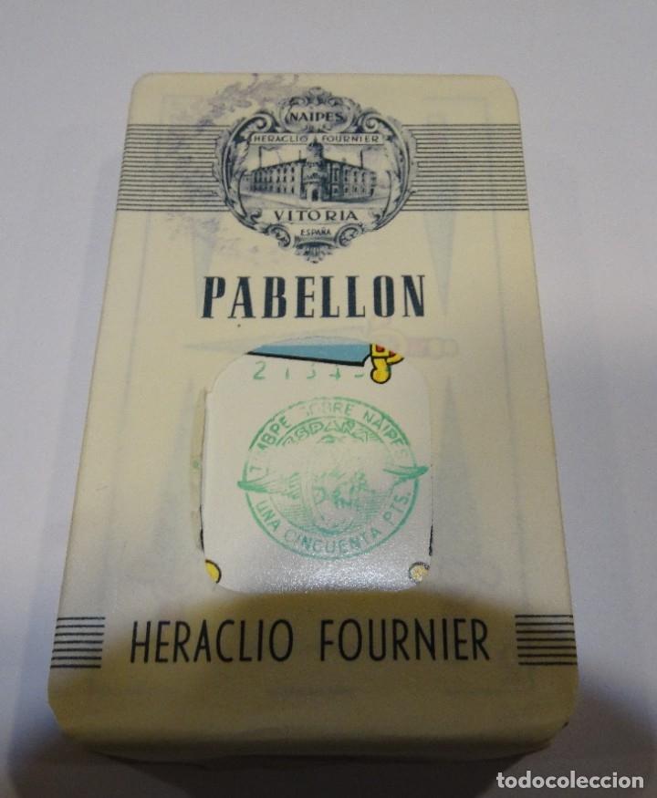 Barajas: BARAJA- CARTAS PABELLÓN HERACLIO FOURNIER PRECINTADA SIN ABRIR AÑO 1962 - Foto 4 - 183018297
