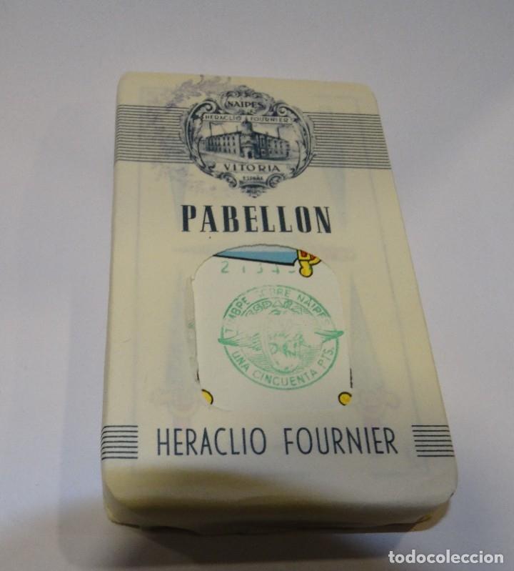 BARAJA- CARTAS PABELLÓN HERACLIO FOURNIER PRECINTADA SIN ABRIR AÑO 1962 (Coleccionismo para Adultos - Barajas)
