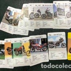 Barajas: COLECCIÓN INCOMPLETA DE CARTAS DE MOTOS. Lote 184340802