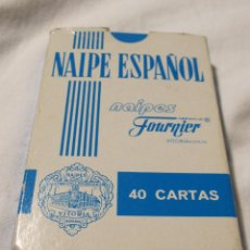 Barajas: BARAJA DE NAIPES FOURNIER LAMPARAS PHILIPS MASTER. FIBRA MARFIL. 10 X 6,5 CM. Lote 202661556