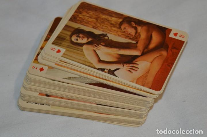 MAZO DE 80 CARTAS / BARAJA ERÓTICA / MUY ANTIGUA - CALCULO SOBRE AÑOS 60 - ¡¡MIRA FOTOS/DETALLES!! (Coleccionismo para Adultos - Barajas)