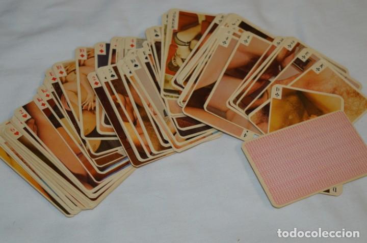 Barajas: Mazo de 80 Cartas / BARAJA ERÓTICA / Muy antigua - Calculo sobre años 60 - ¡¡Mira fotos/detalles!! - Foto 2 - 205384342
