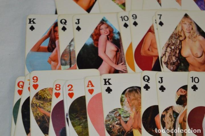 Barajas: Antigua BARAJA ERÓTICA, Buen estado - Completa 54 Cartas/modelos - GRAPPA Spain ¡Mira! - Foto 6 - 208362091