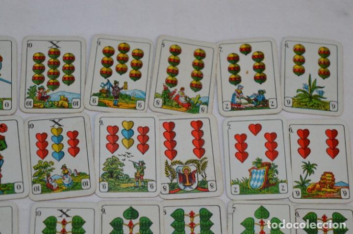 Barajas: MINI BARAJA - Con 36 Naipes / Cartas - Alemania - Años 30 / 40 - De colecciones tabaco ¡Mira fotos! - Foto 5 - 213967596