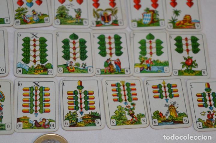 Barajas: MINI BARAJA - Con 36 Naipes / Cartas - Alemania - Años 30 / 40 - De colecciones tabaco ¡Mira fotos! - Foto 7 - 213967596