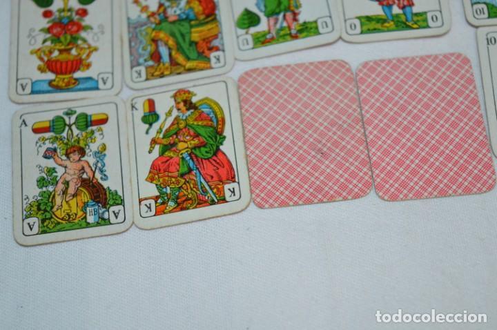 Barajas: MINI BARAJA - Con 36 Naipes / Cartas - Alemania - Años 30 / 40 - De colecciones tabaco ¡Mira fotos! - Foto 8 - 213967596
