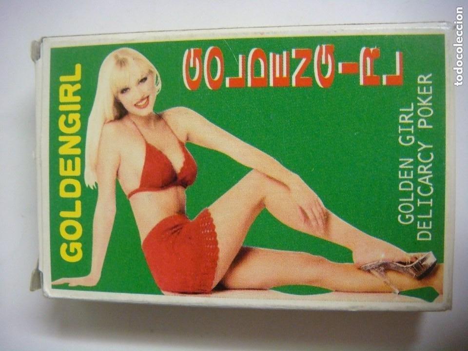 BARAJA GOLDEN GIRL DELICARCY POKER Nº-2121 ANTIGUA (Coleccionismo para Adultos - Barajas)