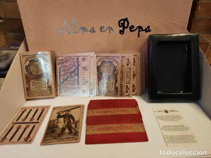BARAJA CARTAS NAIPES CONSTITUCION (Coleccionismo para Adultos - Barajas)