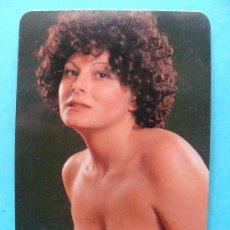 Calendarios: CALENDARIO DE 1977. DESNUDO - ERÓTICO. MUJER MORENA DE PELO RIZADO. PUBLICIDAD CÓRDOBA.NO FOURNIER. Lote 221565902