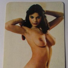Calendarios: CALENDARIO DE 1978. DESNUDO - ERÓTICO. MUJER MORENA PEINÁNDOSE. CÁDIZ. NO FOURNIER. Lote 221566918