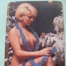 Calendarios: CALENDARIO DESNUDOS - ERÓTICO. AÑO 1976. MUJER DESNUDA ÁRBOL NAVIDAD. BARES. SEU. LÉRIDA. NO FOURNI. Lote 20707031