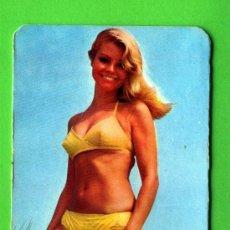 Calendarios: UN CALENDARIO AÑO 1971, PRECIOSA SEÑORITA SIN PUBLICIDAD. Lote 18147724