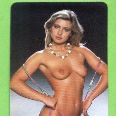 Calendarios: CALENDARIO 1985. CHICA DESNUDA. PUBLICIDAD HOSTAL ST. VICENTE FERRER. LA CANONJA. TARRAGONA.. Lote 20713724