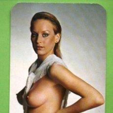 Calendarios: CALENDARIO 1990. CHICA DESNUDA. PUBLICIDAD IMPREMTA LLOP. FALSET. TARRAGONA.. Lote 20713730