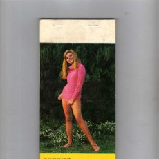 Calendarios: CALEDARIO PLAYA 1973 ( EROTICO ) , COMPLETO 12 CHICAS + PORTADA., 25 X 10'5 CM, . Lote 27966859
