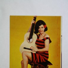 Calendarios: CALENDARIO DE CHICA, SERIE 24, Nº 11, AÑO 1969 - PUBLICIDAD DETRÁS QUIT - GRAS. Lote 32577017