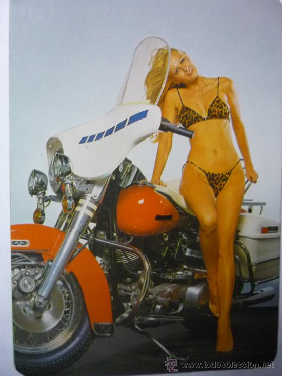 Desnuda Con Moto Extranjero