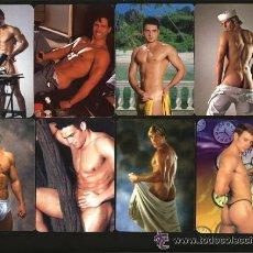 Calendarios: 9 CALENDARIOS CABALLEROS, CHICOS, DESNUDOS MASCULINOS ( AÑOS, 2004-6-7-8 ). Lote 33146587