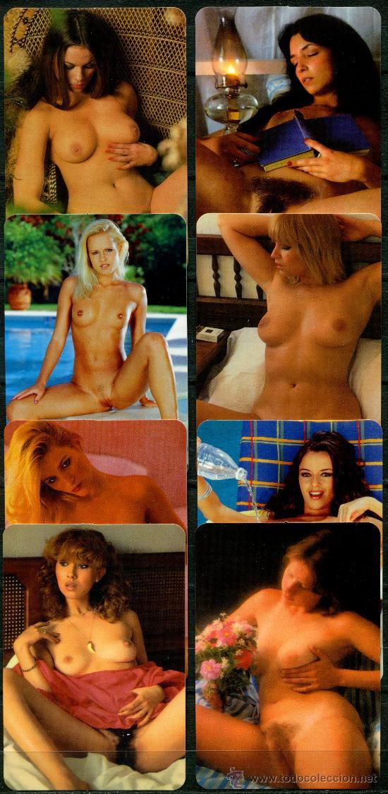 """8 CALENDARIOS BOLSILLO """"X"""". DESNUDOS 2009 (Coleccionismo para Adultos - Calendarios)"""