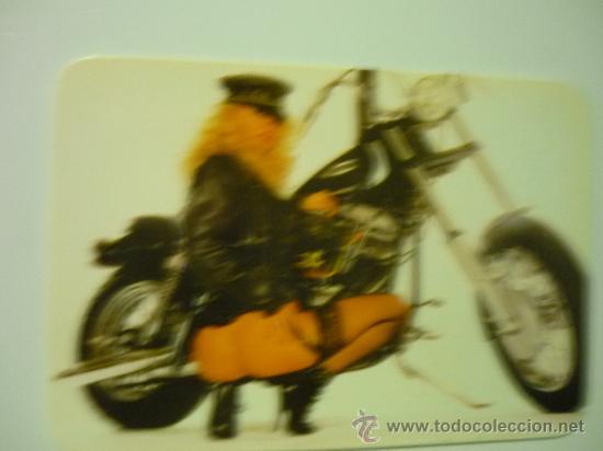 Calendario Extrangero Mujer Desnuda Con Moto 2001