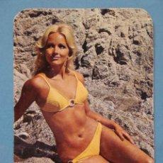 Calendarios: CALENDARIO DE DESNUDOS. AÑO 1973. MUJER BIKINI, MONTILLA CORDOBA. EROTICA SEXY DESNUDO.NO FOURNIER. Lote 39497440