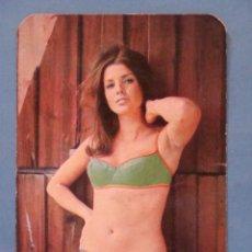 Calendarios: CALENDARIO DE DESNUDOS. AÑO 1971. MUJER BIKINI VERDE CORDOBA. EROTICA SEXY DESNUDO.NO FOURNIER. Lote 39497512