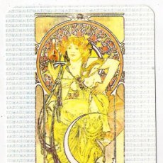 Calendarios: -52040 CALENDARIO PINTURA DESNUDO DE MUJER, AÑO 1991, PUBLICIDAD MAKO, EXTRANJERO. Lote 39755916