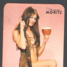 Calendarios: .1 CALENDARIO DE ** CHICA CERVEZAS MORITZ ** - AÑO 1972. Lote 40163289